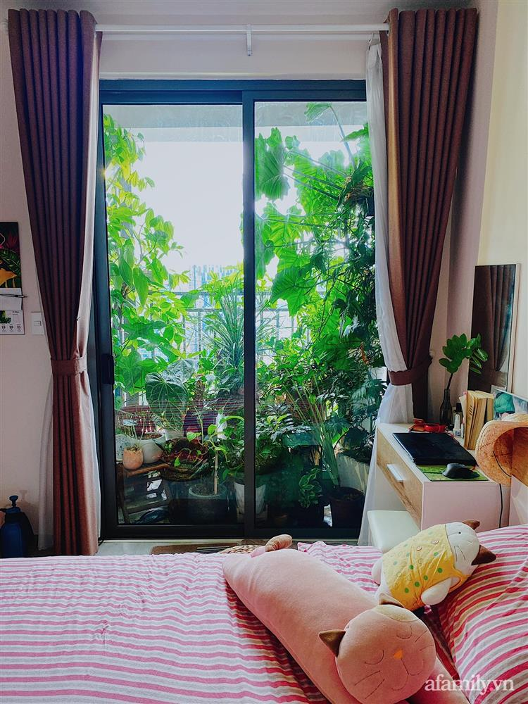 Căn hộ trên tầng cao xanh mát ấn tượng với đủ loại cây nhiệt đới của chàng trai Sài Gòn-9
