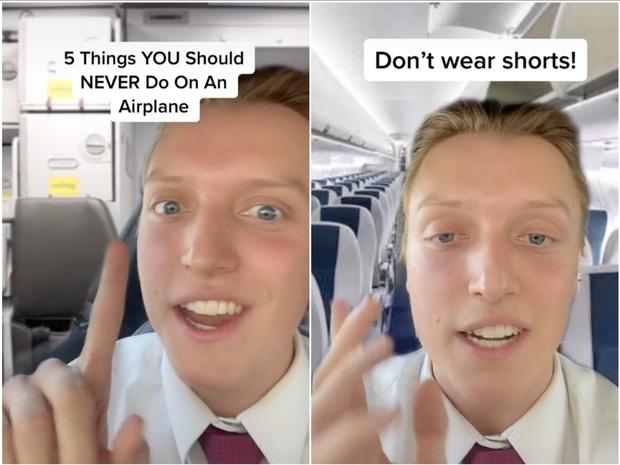 Đừng nên mặc quần shorts khi lên máy bay bởi lời giải thích này sẽ khiến bạn thấy ớn-1