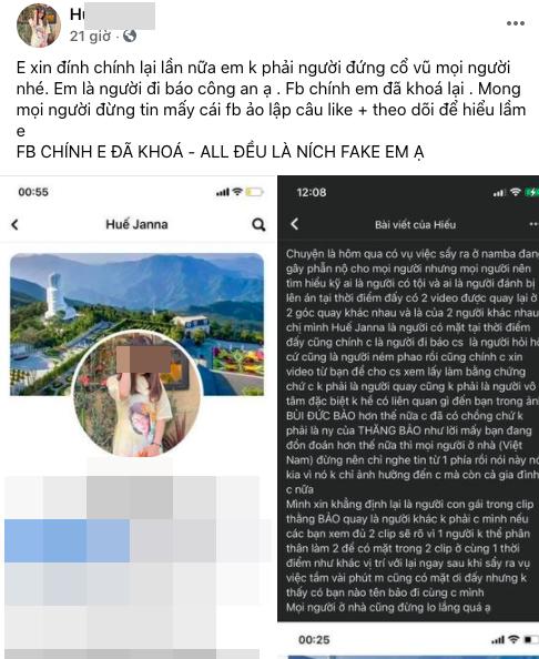 Cô gái bị tố đứng quay clip du học sinh Việt ở Osaka đã khóa Facebook chính nhưng lại lập tài khoản phụ để tiếp tục thanh minh?-3