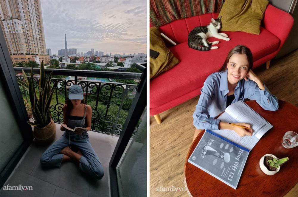Cô gái người Nga chia sẻ chuỗi ngày giãn cách khó quên khi lần đầu đi chợ bằng phiếu, biết ơn Việt Nam vì sự tử tế dành cho cộng đồng người nước ngoài-3