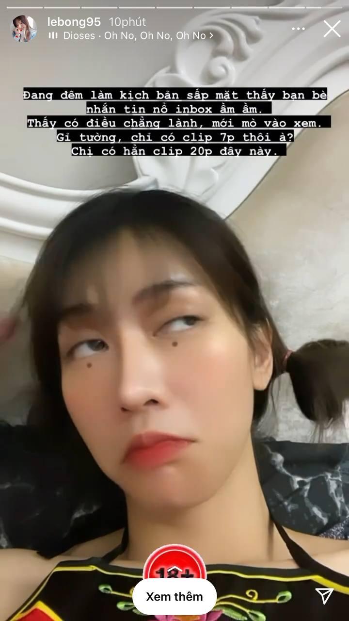 Cõi mạng náo loạn vì Lê Bống bị đồn lộ clip nóng, phản ứng của gái xinh khiến netizen không khỏi bất ngờ-5