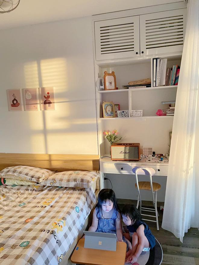 Vợ chồng Nghệ An chi 600 triệu tái cấu trúc căn hộ 90m2, góc nào cũng rộng thênh thang ngắm đến đâu ưng đến đó-15