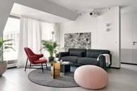 Căn hộ 42m² decor tinh tế với nội thất và màu sắc hiện đại dành cho vợ chồng trẻ