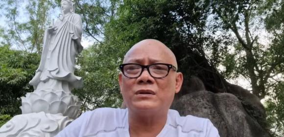 Nghệ sĩ Tấn Hoàng bất ngờ cạo đầu và ăn chay, tiết lộ lý do khiến dân mạng ngỡ ngàng-3