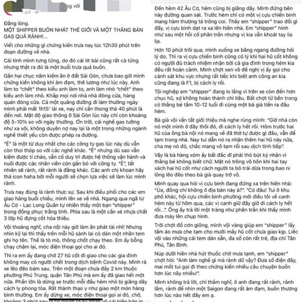 Sự thật câu chuyện shipper chở tro cốt người mất vì Covid-19 đi giao khắp Sài Gòn gây xôn xao-2