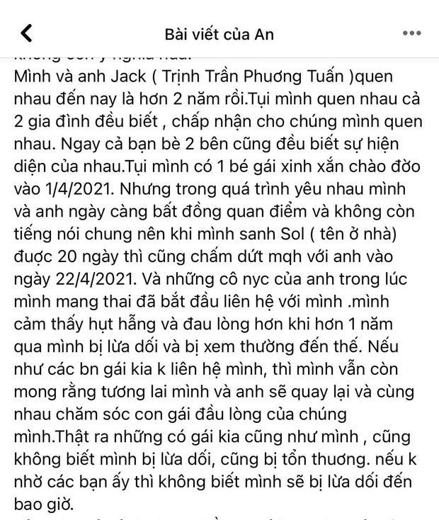 Thiên An đích thân tung giấy chứng sinh của con gái với Jack, tuyên bố chịu trách nhiệm hình sự nếu dối gian-2