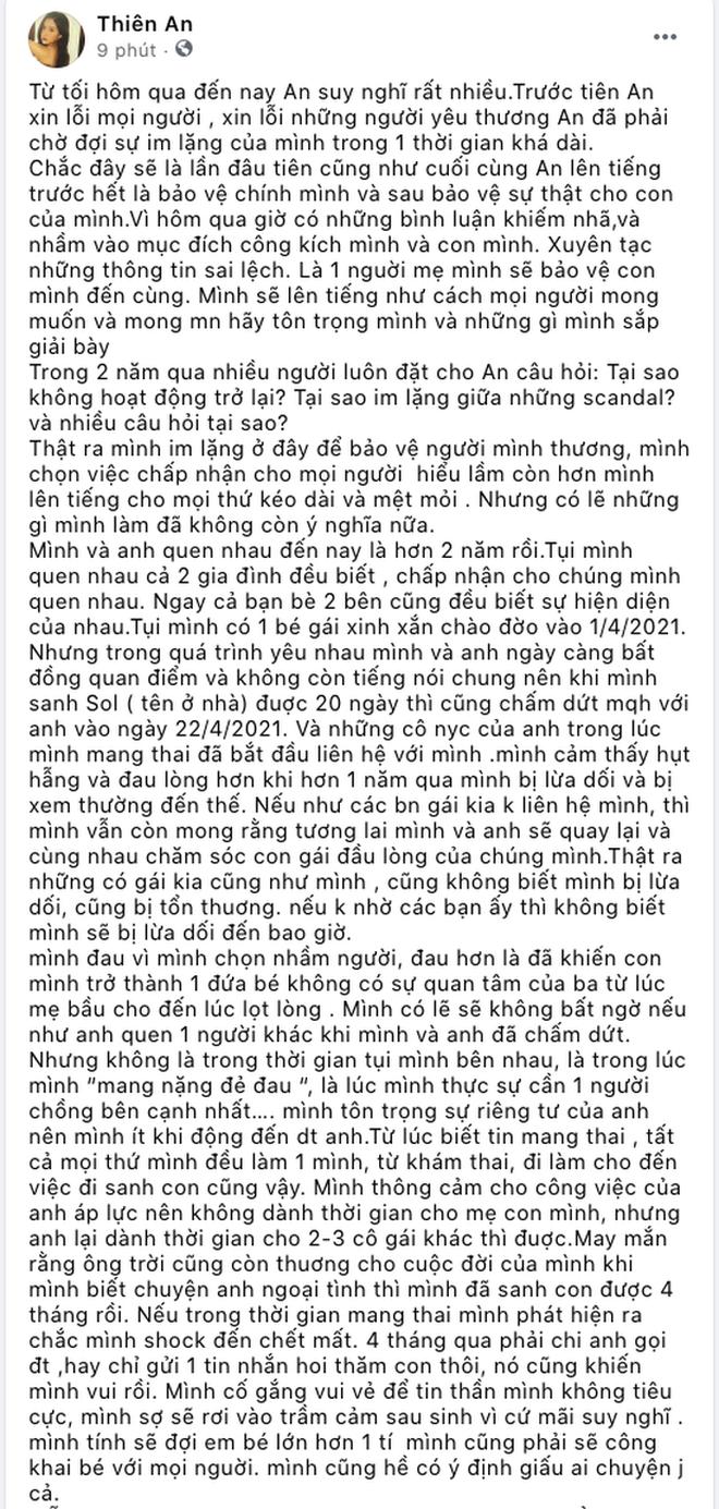 Đọc đoạn chat của Thiên An với bạn thân mà xót: Hết cách rồi anh ơi, em không muốn ai phải tổn thương như em nữa-5