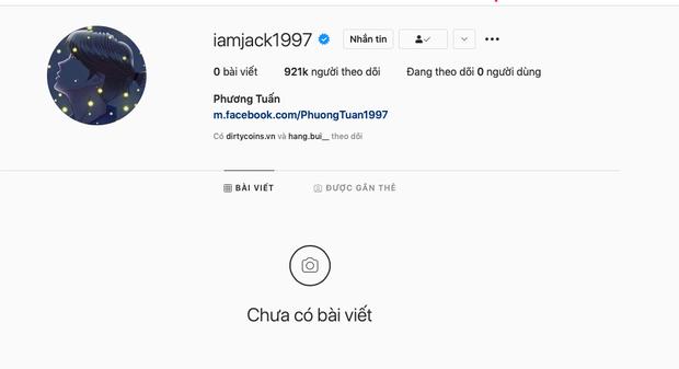 Jack có động thái mới nhất trên Instagram giữa bê bối tình ái, nhưng sao thật khó hiểu thế này?-1