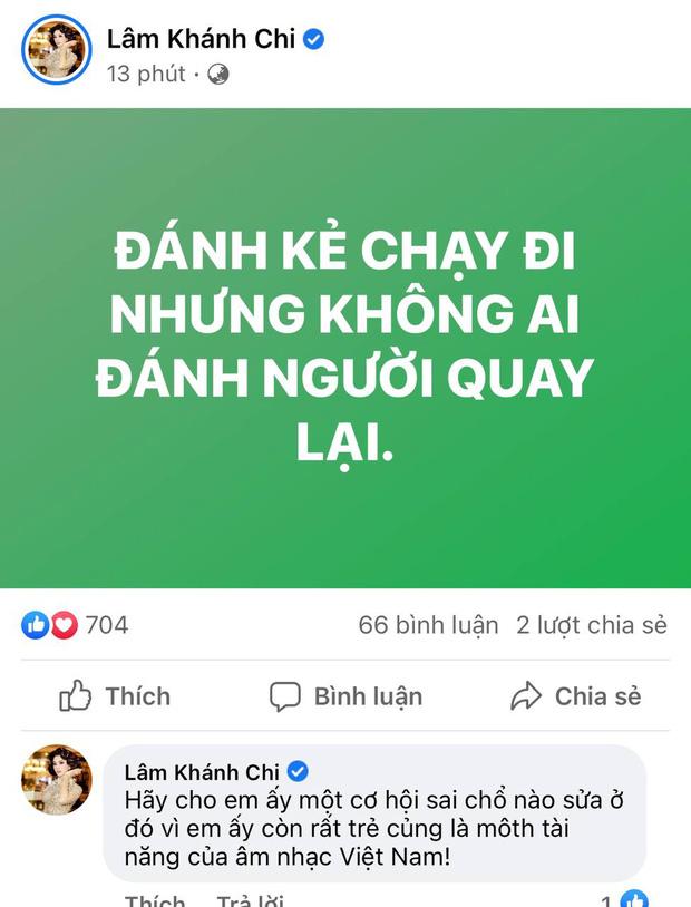 Lâm Khánh Chi, BTV Quang Minh, trưởng FC Đom Đóm đồng loạt nhắn gửi đến Jack sau status xin lỗi vì bê bối-1