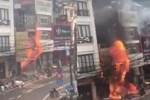 Vụ cháy cửa hàng gas ở Sa Pa: Khoảnh khắc 3 mẹ con được kịp thời giải cứu ngay trước thảm họa-1