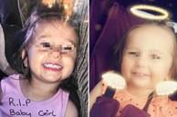 Bé gái 3 tuổi bị mẹ và cha dượng hành hung dã man đến chết, hình ảnh đau xót ngay trước khi qua đời được tiết lộ khiến dư luận căm phẫn