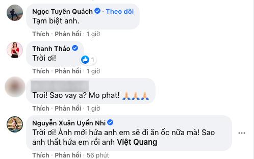 Hàn Thái Tú, Thanh Thảo và các sao Việt bàng hoàng khi nghe tin ca sĩ Việt Quang qua đời-2