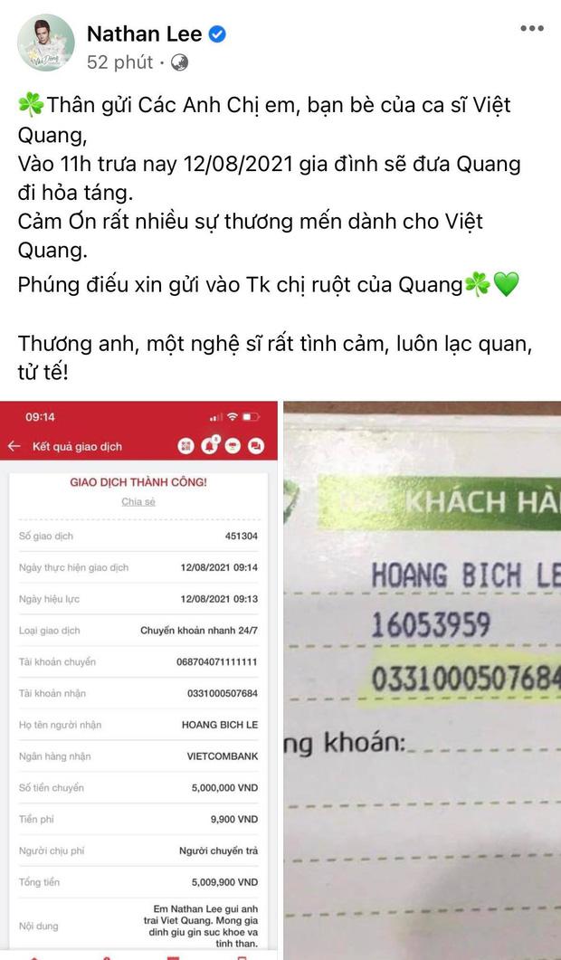 Tang lễ gấp rút của ca sĩ Việt Quang: Không kèn trống, khâm liệm tại nhà riêng, xót xa nụ cười người quá cố trên di ảnh-6