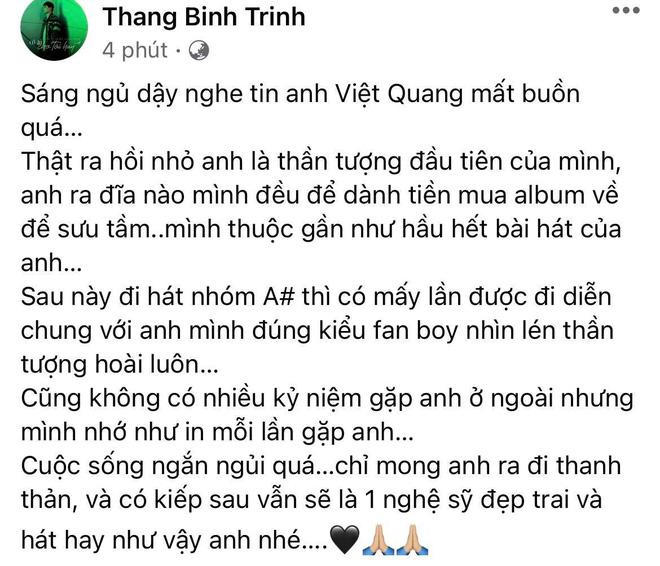 Tang lễ gấp rút của ca sĩ Việt Quang: Không kèn trống, khâm liệm tại nhà riêng, xót xa nụ cười người quá cố trên di ảnh-7