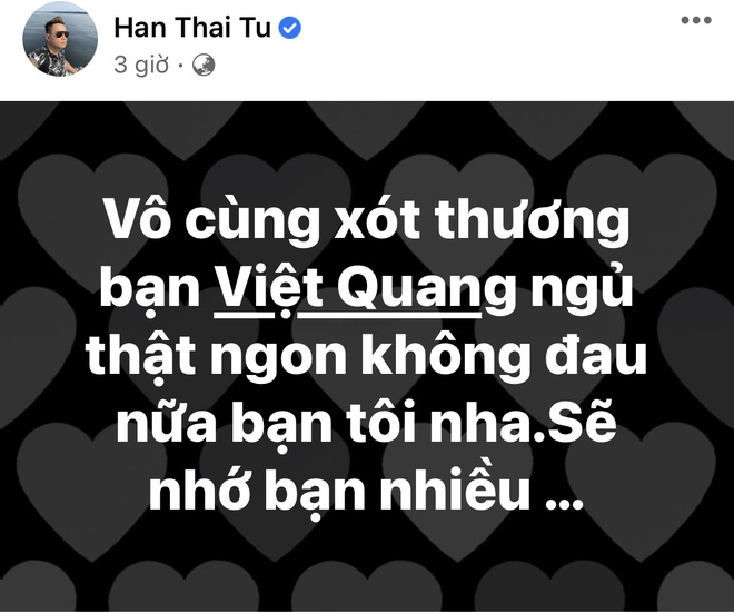 Tang lễ gấp rút của ca sĩ Việt Quang: Không kèn trống, khâm liệm tại nhà riêng, xót xa nụ cười người quá cố trên di ảnh-10