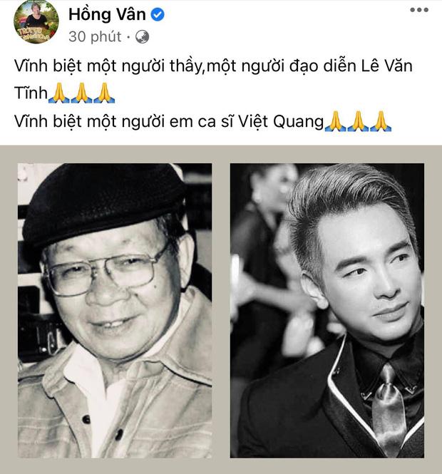 Đạo diễn Lê Văn Tĩnh qua đời sau thời gian điều trị Covid-19, 2 thành viên trong gia đình đều đang nhiễm bệnh-4
