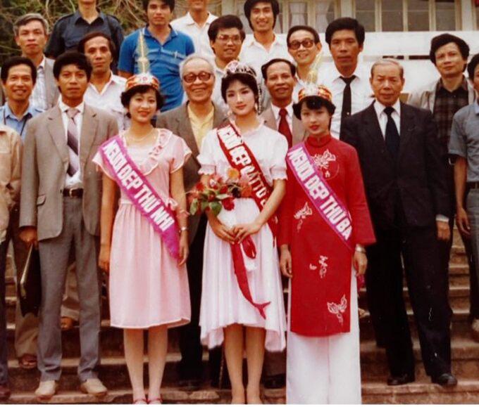 Chiêm ngưỡng nhan sắc mê hoặc lòng người của 5 nàng hậu Việt đình đám thập niên 90-1