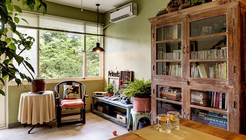 Cải tạo căn nhà tập thể cũ thành không gian nhỏ xinh ấn tượng đến bất ngờ-1