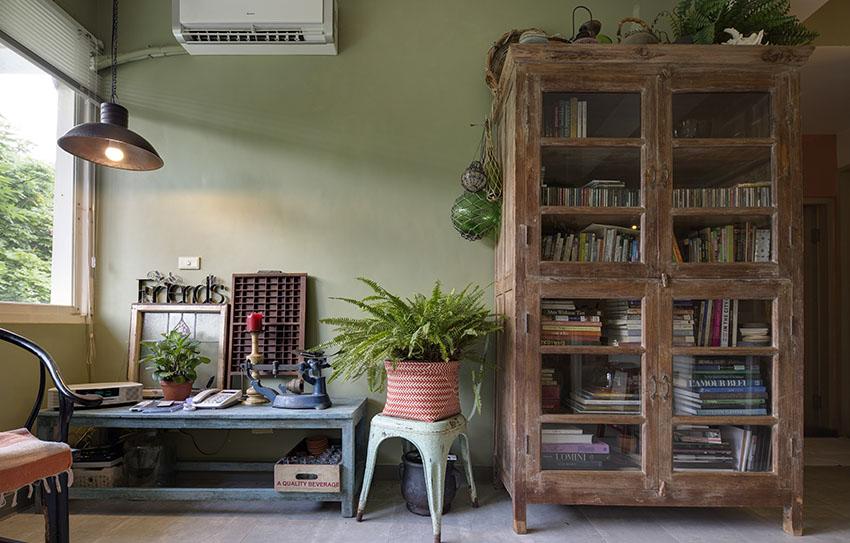 Cải tạo căn nhà tập thể cũ thành không gian nhỏ xinh ấn tượng đến bất ngờ-2
