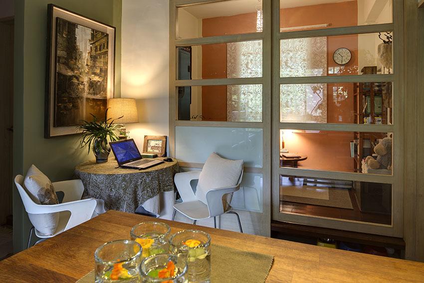 Cải tạo căn nhà tập thể cũ thành không gian nhỏ xinh ấn tượng đến bất ngờ-5