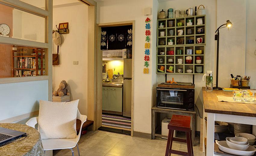 Cải tạo căn nhà tập thể cũ thành không gian nhỏ xinh ấn tượng đến bất ngờ-9