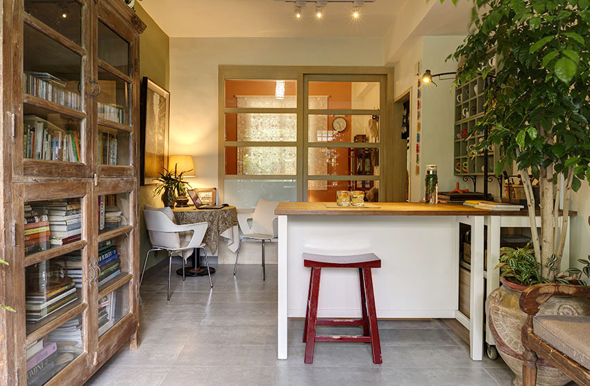 Cải tạo căn nhà tập thể cũ thành không gian nhỏ xinh ấn tượng đến bất ngờ-12