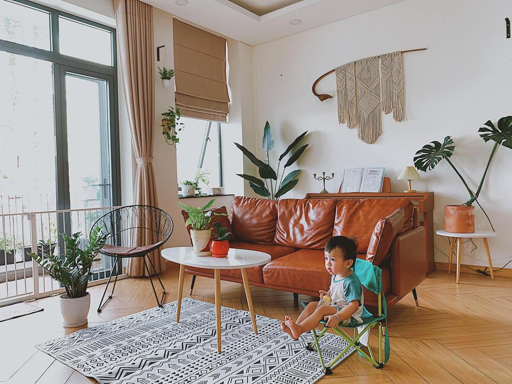 Không đủ tiền thuê KTS, mẹ bỉm tự thiết kế nhà với style vintage pha trộn boho, thành quả xinh yêu hết nấc-1