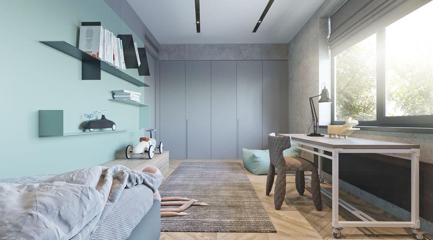 Phòng ngủ đơn ngọt ngào theo phong cách Macaron, nhẹ nhàng mà thư thái-7