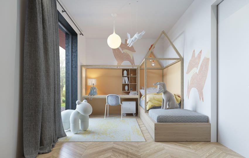 Phòng ngủ đơn ngọt ngào theo phong cách Macaron, nhẹ nhàng mà thư thái-12