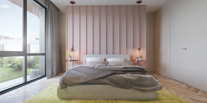 Phòng ngủ đơn ngọt ngào theo phong cách Macaron, nhẹ nhàng mà thư thái-9