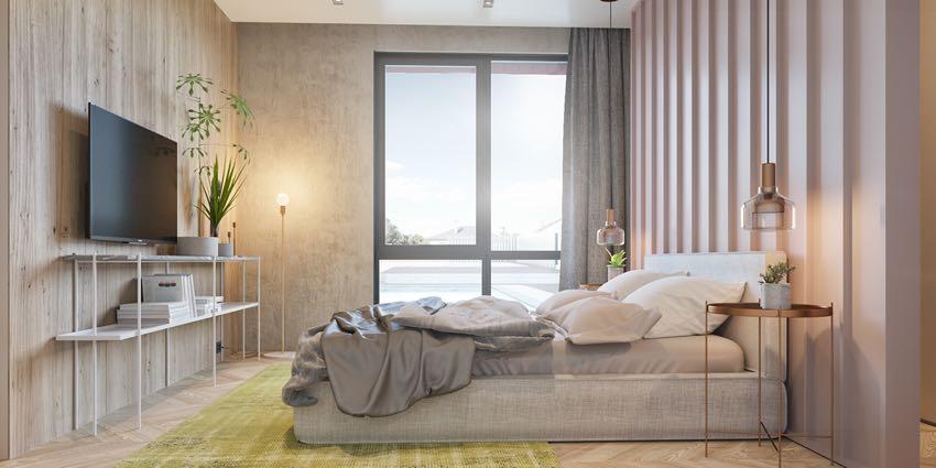 Phòng ngủ đơn ngọt ngào theo phong cách Macaron, nhẹ nhàng mà thư thái-10