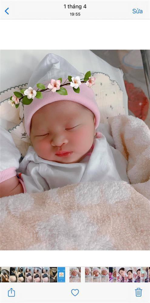 """MXH phát sốt vì ảnh hiếm của con gái Jack và Thiên An lúc 4 tháng tuổi: Mặt như bản sao của bố, cực yêu khi lên đồ""""-11"""