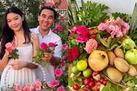 Khu vườn trongbiệt thự 21 tỷ của MCQuyềnLinh mùa dịch gìcũng có: Rau xanh, hoa tươi, trái cây đều xum xuê