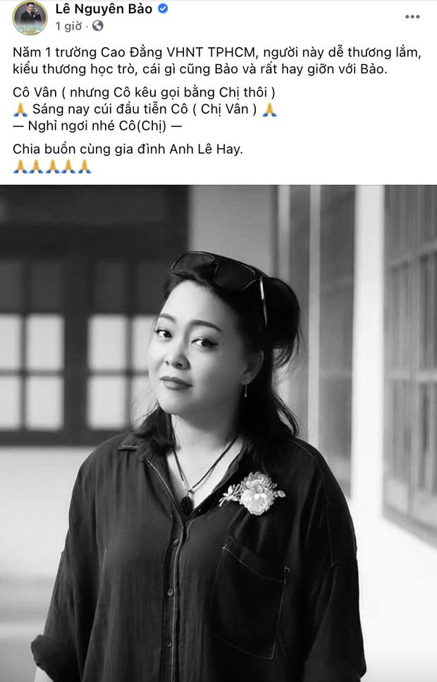 Người thân xót xa thông báo tang lễ của ca sĩ Phan Cẩm Vân, linh cữu được đưa đi hoả táng gấp giữa dịch Covid-19-3