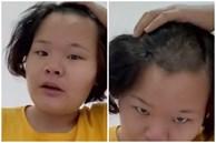 Mẹ ngủ dậy choáng váng phát hiện bị con cạo mất nửa đầu, nguyên nhân đằng sau khiến cô mếu máo cười ra nước mắt