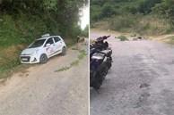 Nghệ An: Tài xế taxi chết gục bên đường với vết cắt ngang cổ