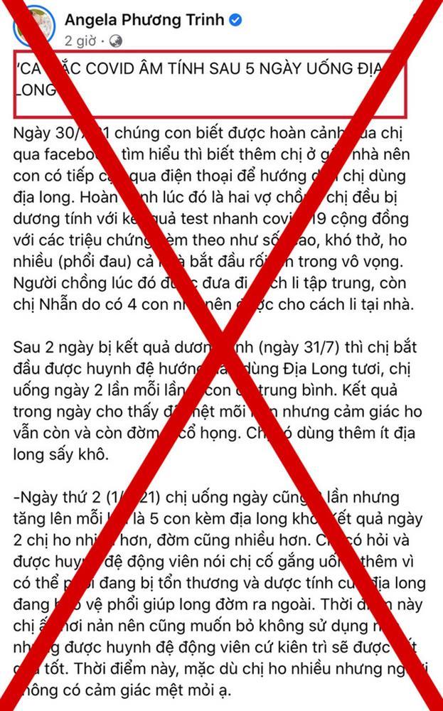 2 sao Việt bất chấp chia sẻ thông tin sai lệch chữa Covid-19 bằng Địa long, phẫn nộ nhất là thách thức của Lê Bê La-3