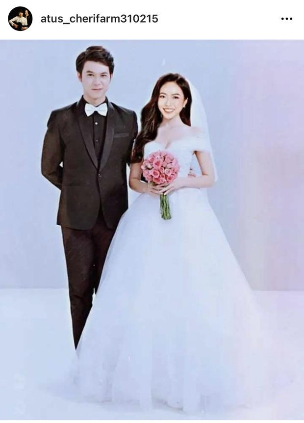Rầm rộ ảnh cưới của Diệu Nhi và Anh Tú giữa tin đồn có con đầu lòng, thực hư ra sao mà MXH náo loạn cả lên thế này?-1