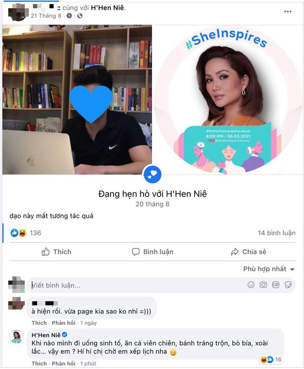 Một chàng trai bất ngờ công khai hẹn hò với HHen Niê, nàng hậu còn nhiệt tình tương tác, sắp cả lịch hẹn hò-1