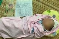 Bé trai sơ sinh bị bỏ lại gầm cầu cùng 2,2 triệu đồng và mảnh giấy: 'Vì hoàn cảnh éo le nên tôi không nuôi được'