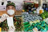 Cận cảnh một buổi 'đi chợ hộ' của bộ đội, giáo viên... tại các siêu thị dã chiến ở TP.HCM trong thời gian siết chặt giãn cách