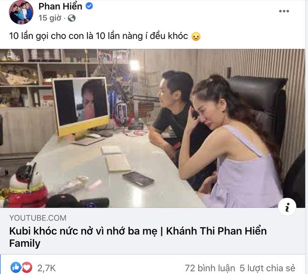 Phan Hiển ở đâu giữa lúc Khánh Thi gây hoang mang vì livestream khóc, nói chuyện tiêu cực?-6