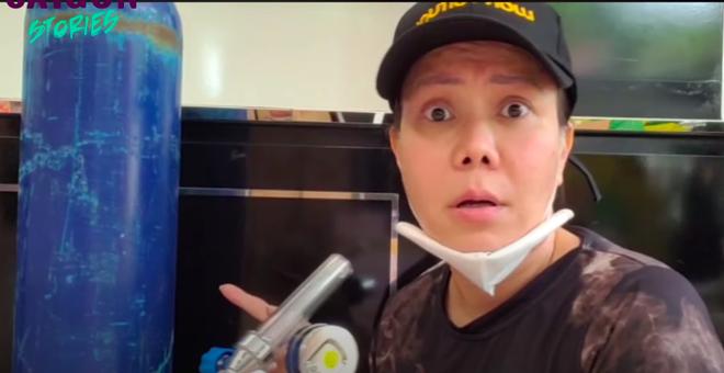 Việt Hương lên tiếng việc người bệnh xài bình oxy không trả lại còn đem bán, gây khó khăn cho đội từ thiện giữa mùa dịch-1