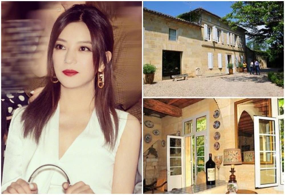 Ở Pháp nàng én nhỏ Triệu Vy sở hữu khối bất động sản khổng lồ gồm dinh thự cổ 141 tỷ và vườn nho 7 hecta-1