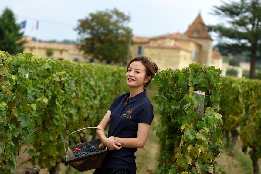 Ở Pháp nàng én nhỏ Triệu Vy sở hữu khối bất động sản khổng lồ gồm dinh thự cổ 141 tỷ và vườn nho 7 hecta-3