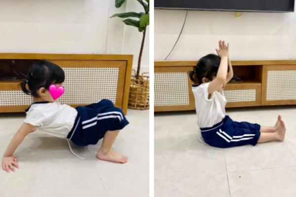 Con gái Trường Giang khiến netizen thích thú với loạt khoảnh khắc khua chân múa tay hài hước-2