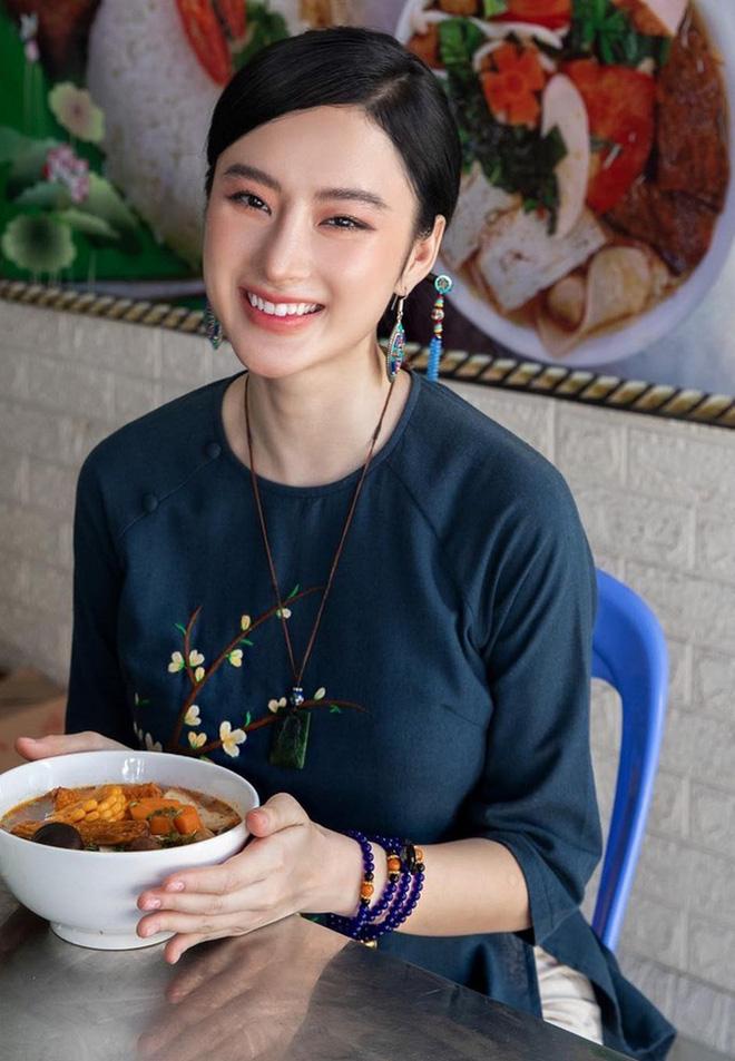 Trước ồn ào của Angela Phương Trinh, Lâm Vỹ Dạ từng ăn tô canh Địa long, còn nức nở khen ngon-4