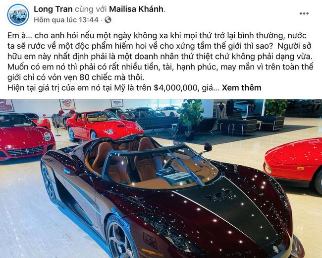 Xôn xao thông tin đại gia Sài Gòn là chủ sở hữu duy nhất của siêu xe Regera giá hơn 115 tỷ đồng - được dân chơi xe săn lùng trên khắp thế giới-5