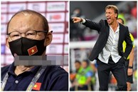 HLV Park Hang-seo không bắt tay HLV tuyển Saudi Arabia sau trận thua