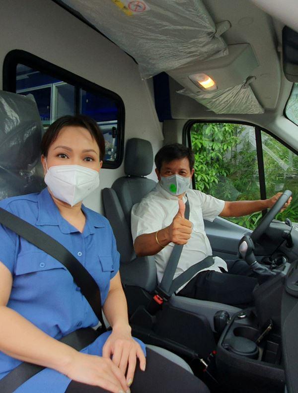 NS Việt Hương chuyển nóng 400 triệu mua xe cứu thương thứ 5 trong tháng, công khai nhận 192 triệu từ 1 nghệ sĩ Vbiz?-5